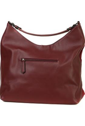 Lookat Kırmızı Renk Bayan Çanta El Ve Omuz Çantası