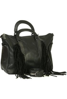 Lookat Siyah Renk Bayan Çanta El Ve Omuz Çantası