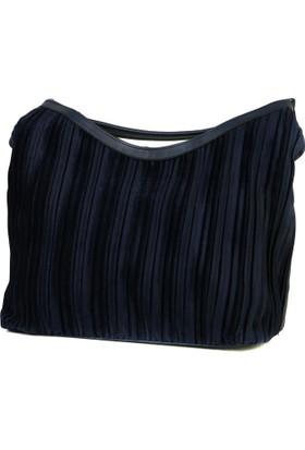 Lookat Mavi Renk Bayan Çanta El Ve Omuz Çantası