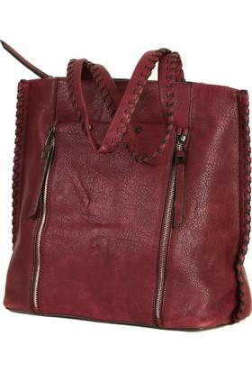 Lookat Kırmızı Renk Bayan Çanta Kol Çantası