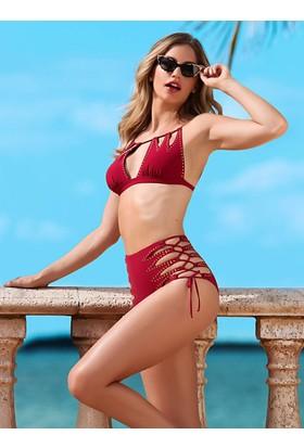 Ayyıldız 28010 Zımba Aksesuarlı Bikini D401