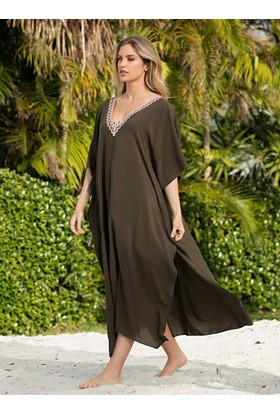 Ayyıldız 29802 Uzun Plaj Elbisesi