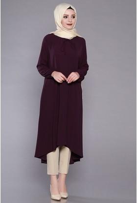 Zemin Giyim Bağcıklı Tunik-2218