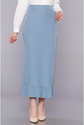 Zemin Giyim Kadın Firfirli Etek-51040