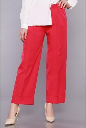 Zemin Giyim Beli Lastikli Pantolon-024