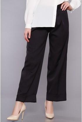 Zemin Giyim Kadın Beli Lastikli Pantolon-024