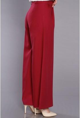 Zemin Giyim Kadın Bol Paça Pantolon-5098