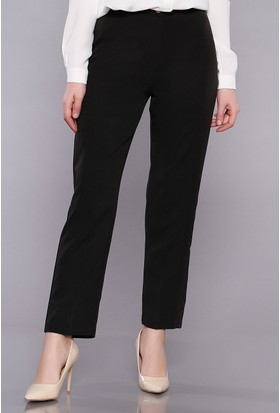 Zemin Giyim Kadın Boru Paça Kumaş Pantolon-022