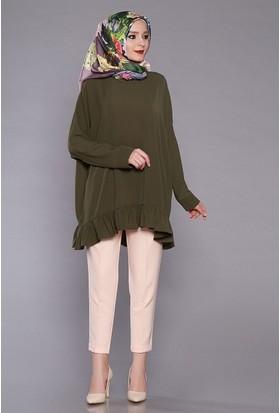 Zemin Giyim Kadın Havuç Kumaş Pantolon-5069