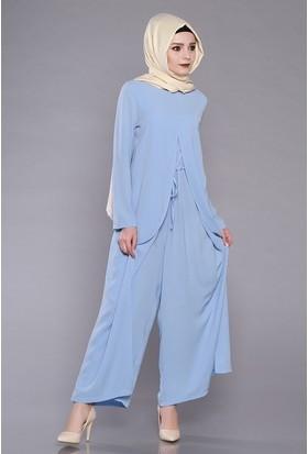 Zemin Giyim Kapaklı Tulum-5017