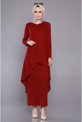 Zemin Giyim Kuyruklu Etekli Takım-301