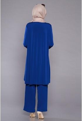 Zemin Giyim Kadın Pantolonlu Takım-302