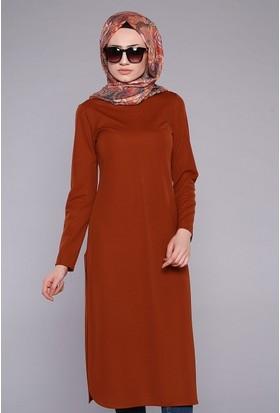 Zemin Giyim Yırtmaçlı Tunik-306