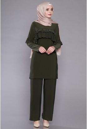 Zemin Giyim Fırfırlı Takım-2345