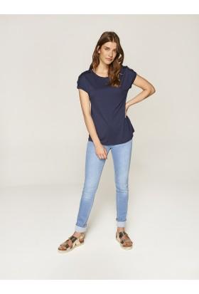 Faik Sönmez Zincir Detaylı T-Shirt 36299