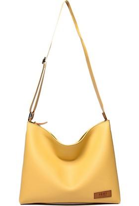 Jacquline Kadın Askılı Çanta Sarı