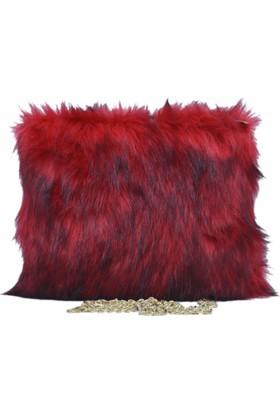 Exclusıve Kadın Askılı Çanta Kırmızı