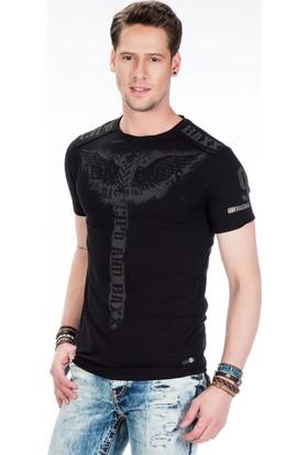 Cipo&Baxx Ct415 Siyah Erkek T-Shirt