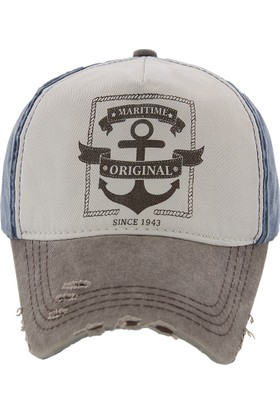 Laslusa Maritime Beyzbol Cap Şapka