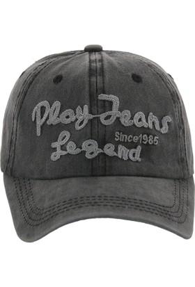 Laslusa Play Jeans Legend Beyzbol Cap Şapka