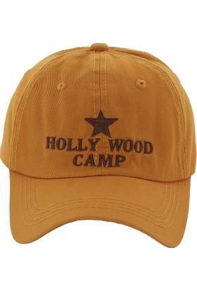 Laslusa Hollywood Camp Haki Beyzbol Cap Şapka