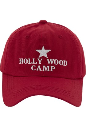 Laslusa Hollywood Camp Haki Beyzbol Cap Şapka