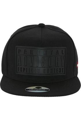 Laslusa Parental Advisory Hip Hop Snapback Şapka
