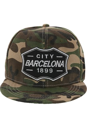Laslusa City Barcelona Hip Hop Snapback Şapka