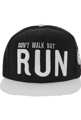 Laslusa Don'T Walk But Run Hip Hop Snapback Şapka