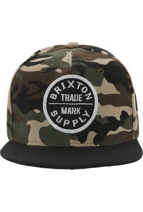 Laslusa Brixton Siyah Hip Hop Snapback Şapka