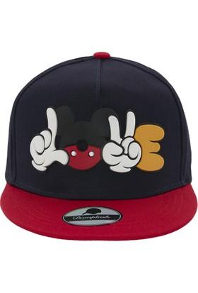 Laslusa Mickey Poz Hip Hop Snapback Şapka