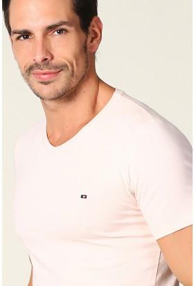 Philip Loren Pudra Logolu V Yaka T-Shirt Ce18B7063R02