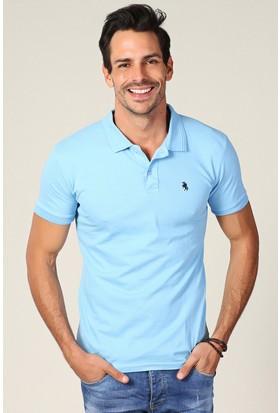 Philip Loren Mavi Logolu Polo Yaka T-Shirt Wp18B8039R08