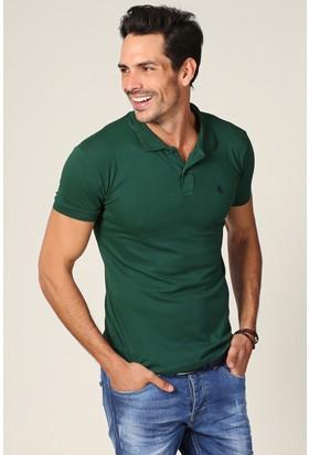 Philip Loren Yeşil Logolu Polo Yaka T-Shirt Wp18B8039R09