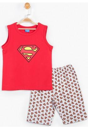 Superman Çocuk Şortlu Takım 12924
