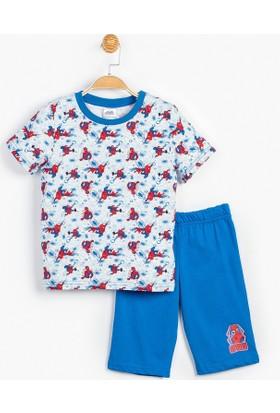 Superman Spiderman Çocuk Pijama Takımı 13103