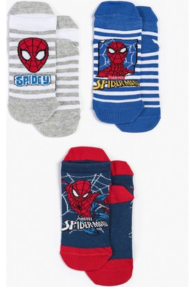 Spiderman Çocuk 3'Lü Çorap 12957