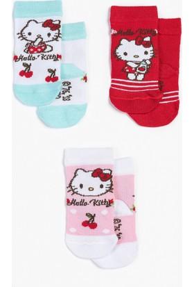 Hello Kitty Bebek 3'Lü Çorap 12953