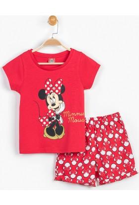 Minnie Mouse Disney Çocuk Pijama Takımı 12940