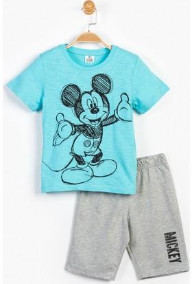 Disney Mickey Mouse Çocuk Şortlu Takım 12902