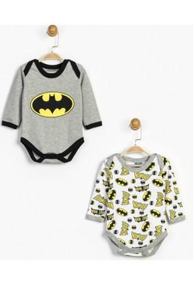 Batman Bebek 2'li Uzun Kol Body 12815