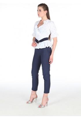 Gabbia Club Beyaz Bluz 1201