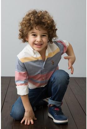 U.S. Polo Assn. Dokuma Gömlek 50189431-Vr013