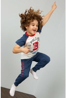 U.S. Polo Assn. Erkek Çocuk Pijama 50196362-Vr019