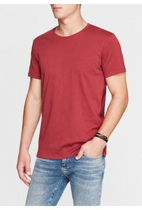 Mavi Erkek Bordo Basic Tshirt