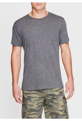Mavi Erkek Gri Basic Tshirt