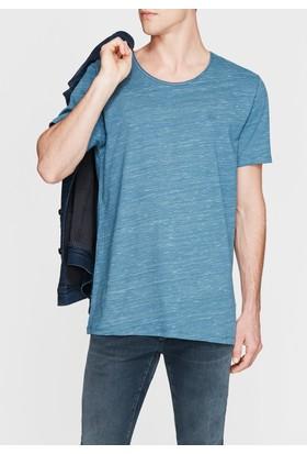 Mavi Erkek Mavi Basic Tshirt