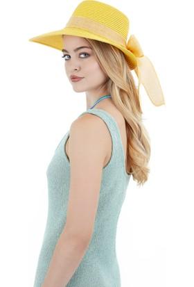 Laslusa Yarım Ay Fiyonklu Şapka