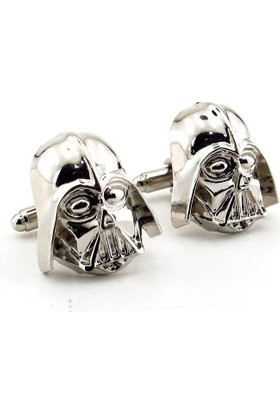 Solfera Star Wars Darth Vader Parlak Metal Kol Düğmesi Cx186