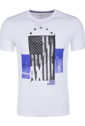 Armani Exchange Erkek T-Shirt 3ZZTAHZJH4Z 1100